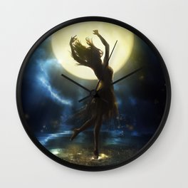 The Eve of Magic Wall Clock