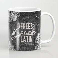 The Trees Speak Latin - Raven Boys Mug