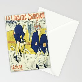 Vintage poster - La Chaine Simpson Stationery Cards