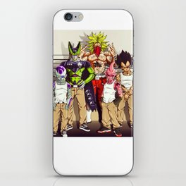 dbz parental iPhone Skin