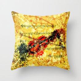 E-Flat Concerto Throw Pillow