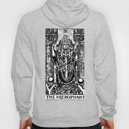 Floral Tarot Print - The Hierophant Hoody