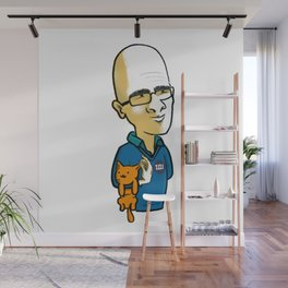 Ohad & Miau Wall Mural