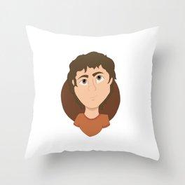 Richard Campbell Gansey III Throw Pillow