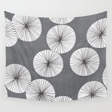 Umbrellas by Friztin Wall Tapestry