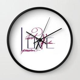 Fancy Love Wall Clock