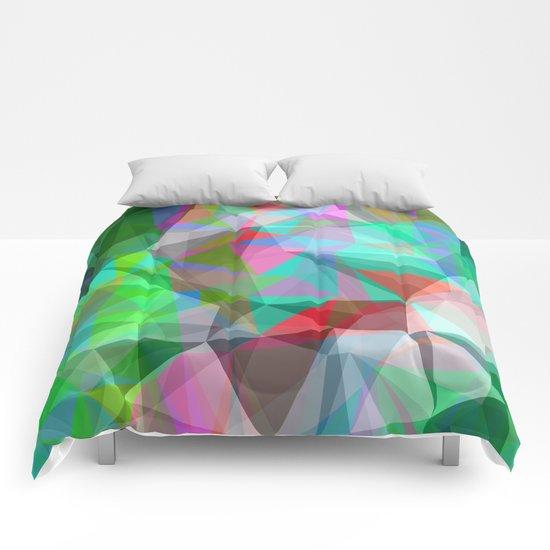green crystal depth Comforters