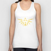 triforce Tank Tops featuring Triforce Z by le.duc
