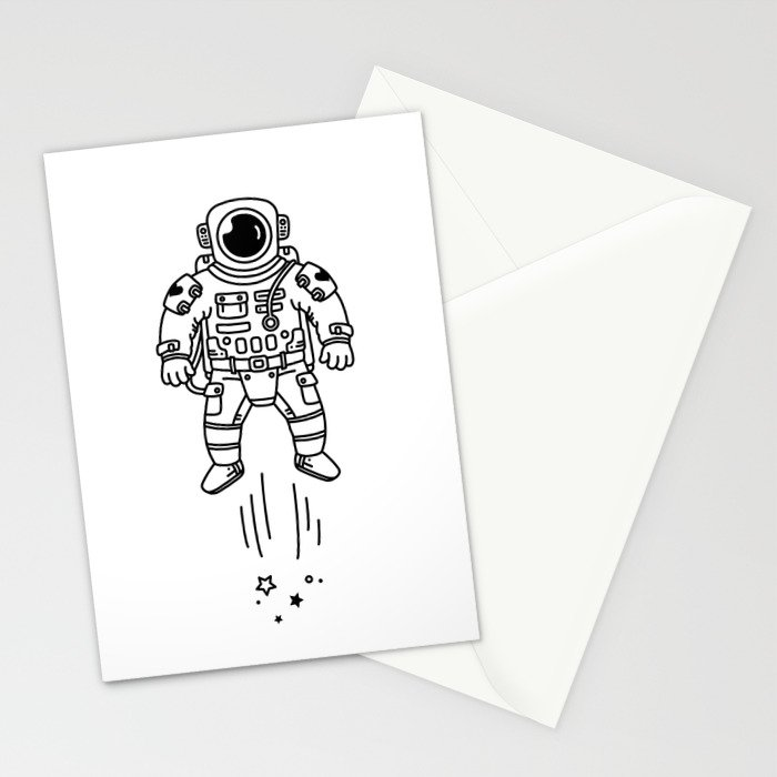 Cosmic Stranger 1 Stationery Cards