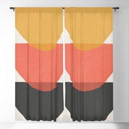 Minimal Abstract Art 34 Blackout Curtain