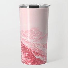 Mountains Red Travel Mug