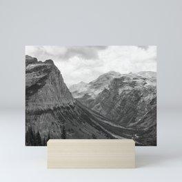 Majestic Sweep - Glacier NP Mini Art Print