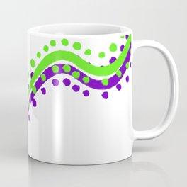Wavy Lines Design Coffee Mug
