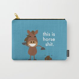 This is Horse Shit - Funny Horse Poo Horse lovers Carry-All Pouch