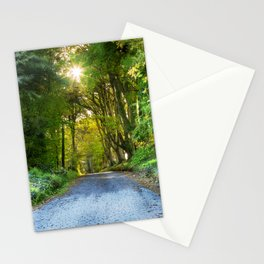 Sunset in the Alley,Clonakilty Stationery Cards