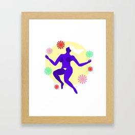 The dancer II Framed Art Print