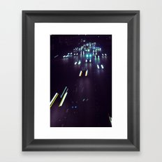 (purp)xSTREETZ4 Framed Art Print