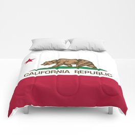California Republic Flag - Bear Flag Comforters