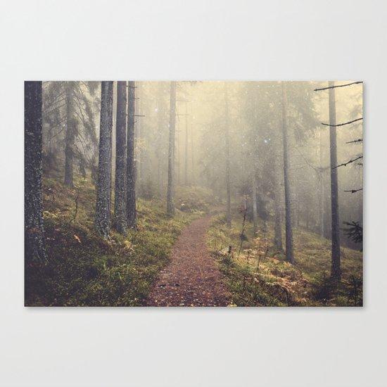 Norwegian Woods Canvas Print
