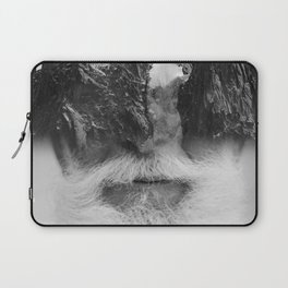 Der Mann am Berg Laptop Sleeve