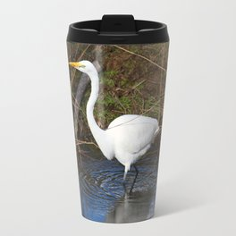 Just Right (Great Egret) Travel Mug