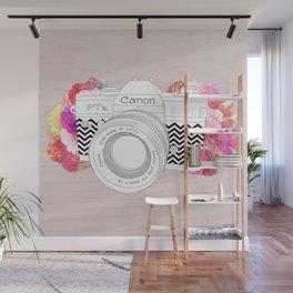 BLOOMING CAN0N Wall Mural