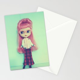 little miss retro Stationery Cards