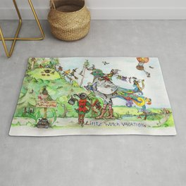 Little Witch Vacation Rug