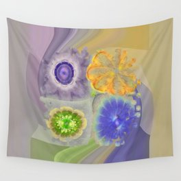 Craterless Incubus Flower  ID:16165-022103-01500 Wall Tapestry