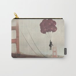 Floating over the Golden Gate Carry-All Pouch