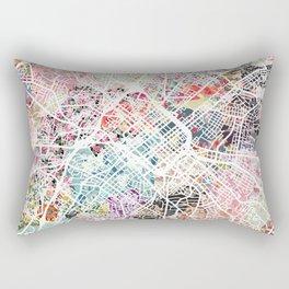 Charlotte map Rectangular Pillow