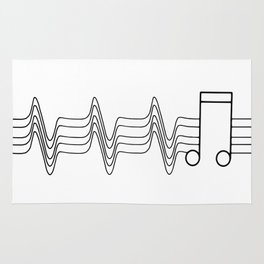 Music Beat Rug