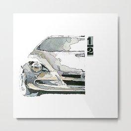 1/2 Metal Print