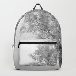 Birch in winter Backpack