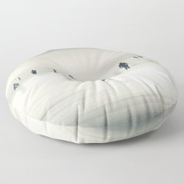 floating on light Floor Pillow