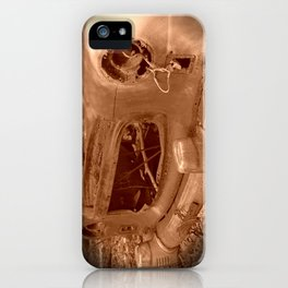 The Old Car In The Woods iPhone Case