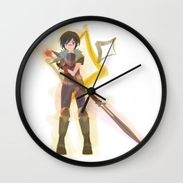 Dragon Age - Hawke of Diamonds [Card Suit Series] Wall Clock