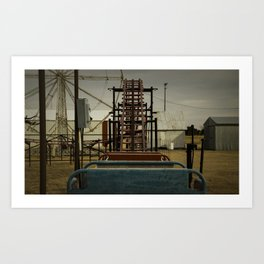 The Devil's Playground Art Print