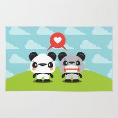 Panda Love Rug