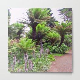 Prehistoric Tree Ferns Metal Print