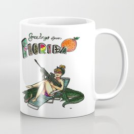 Greetings From Florida Coffee Mug