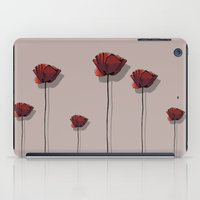 poppy iPad Cases featuring Poppy by Hypathie Aswang