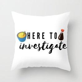Type Five Enneagram Catch Phrase Throw Pillow