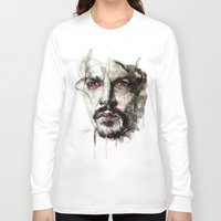 johnny depp Long Sleeve T-shirts featuring Johnny Depp by KlarEm