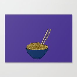 Noodle Bowl Canvas Print