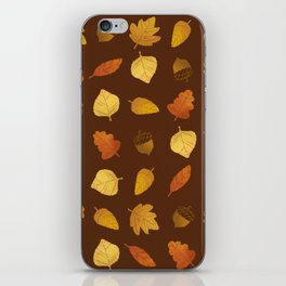 Leaf Lovers in Syrup iPhone Skin