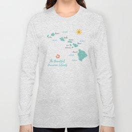 The Hawaiian Islands Long Sleeve T-shirt