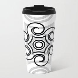 Dony Tattoo (White) Metal Travel Mug
