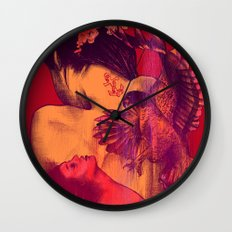 Getting Wild Wall Clock