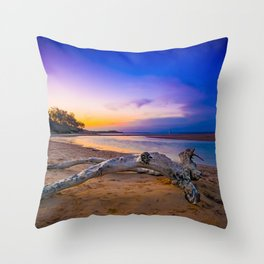 North stradbroke island Throw Pillow
